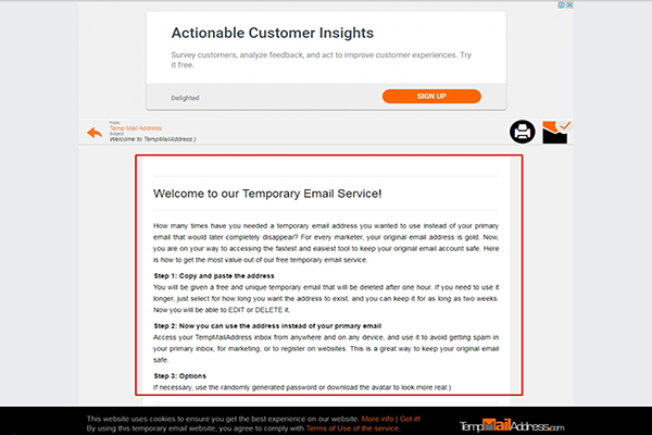 responder mensajes temp mail